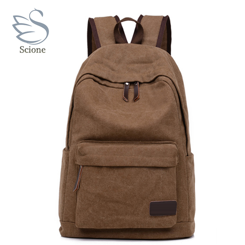 2018 New Fashion Men's Backpack Canvas Male Laptop Computer Bag Casual Stachels Rucksack Mochila Men Travel Bagpack casual student school notebook bag men canvas laptop backpack large computer backpacks male travel rucksack mochila