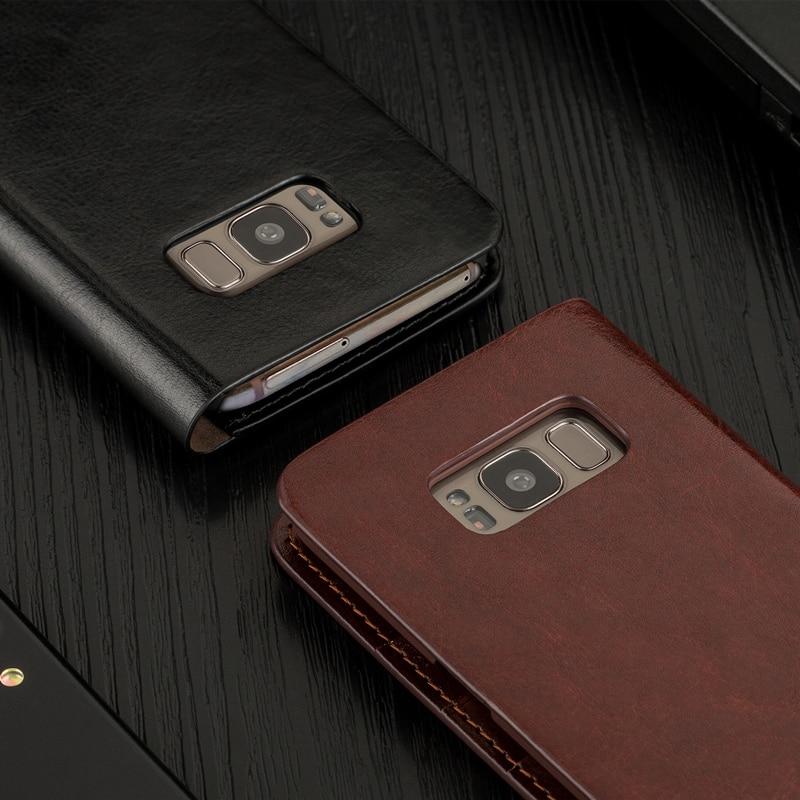 Case for S10e S9 + S8 Plus Musubo շքեղ կաշվե մատի - Բջջային հեռախոսի պարագաներ և պահեստամասեր - Լուսանկար 4