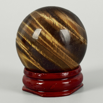1 pieces 40mm Diameter Natural Tiger Eye Gemstone Sphere Crystal Balls Feng shui Home Decor