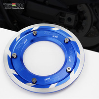 Motorcycle Accessories CNC Rear Wheel Transmission Belt Cover Protector For YAMAHA TMAX 530 T MAX SX DX 2017 2018