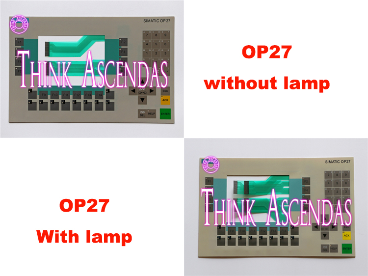 1pcs New OP27 6AV3627-1LK00-1AX0 6AV3 627-1LK00-1AX0 / OP27 6AV3627-1JK00-1AX0 6AV3 627-1JK00-1AX0 Membrane Keypad op27 6av3627 1lk00 1ax0 membrane keypad for operator interface panel compatible new