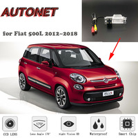 AUTONET HD Night Vision Backup Rear View camera For for Fiat 500L 2012~2018 /CCD /RCA Standard /Parking Camera