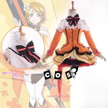 [Customize]Love Live! Koizumi Hanayo Cos SJ Uniform Lolita Dress Cosplay Costume Full Set Halloween Costume Custom-Made Any Size