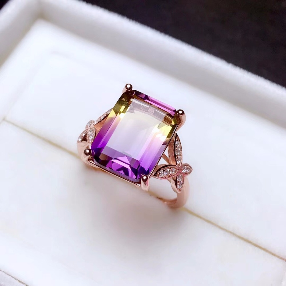 HTB1HL4HbEvrK1RjSszfq6xJNVXal - Uloveido Exquisite Gemstone Natural Amethyst Lady Ring 925 Sterling Silver