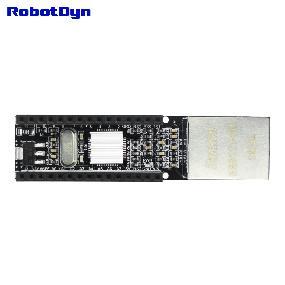 Nano V3 Ethernet Shield - W5500 (V2)