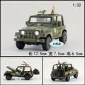 1:32 17.5 cm delicadeza de regalo para bebé 1 unid Wrangler jeep blindado Acústico-óptica de aleación modelo de coche decoración boy juguete