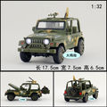 Gift for baby 1pc 1:32 17.5cm delicacy Wrangler jeep armored car Acousto-optic alloy model decoration boy toy
