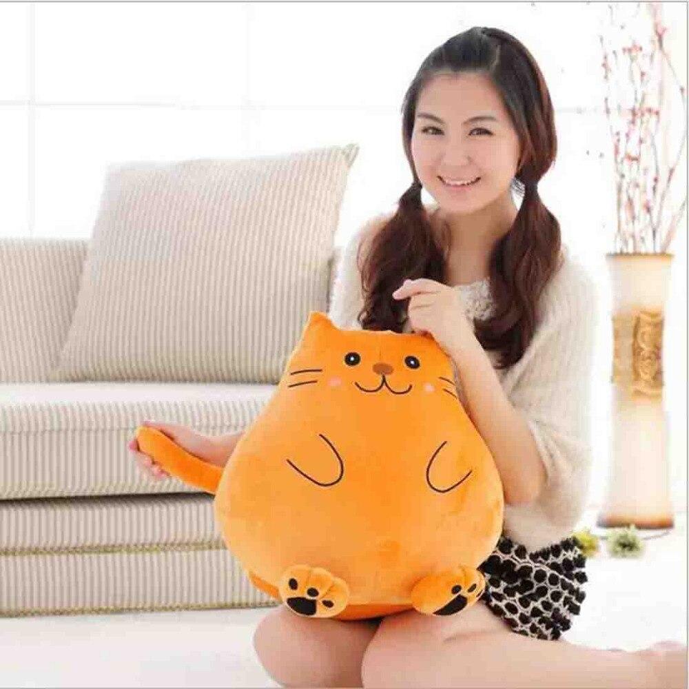 biscotto grasso gatto fumetto bambola del della peluche del giocattolo del del bello della Coda lunga VpMUzS