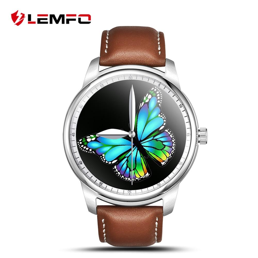 LEMFO LEM1 Smart Watch Smartwatch MTK2502 Bluetooth Smartwatch Women for IOS Android Phone цена