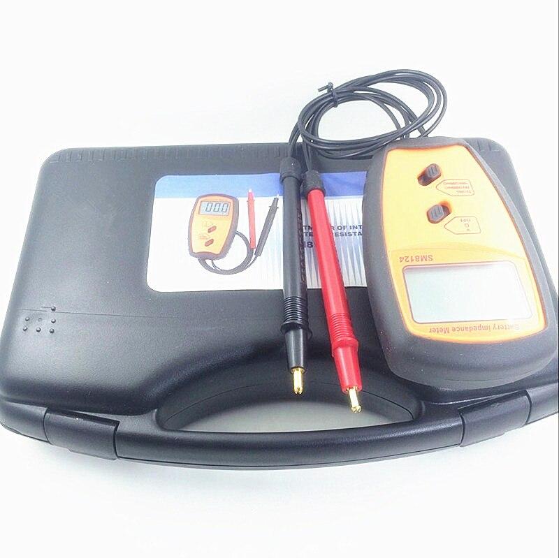 SM8124A compteur d'impédance de résistance de batterie interne voltmètre de résistance de batterie 200 V testeur de batterie invite de basse tension - 6