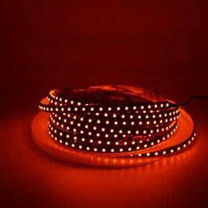 Image 3 - LED ストリップライト 600nm 真オレンジ SMD 5050 3528 ストリップリボンダイオードテープロープライト 12 ボルト 1 メートル 2 メートル 5 メートル柔軟なストリップ文字列ランプ