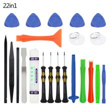 22 in 1  Repair Tools Kit Spudger Pry Opening Tool Screwdriver Set for iPhone iPad Samsung Cell Phone Hand Tools Set 9 in 1 cell phone screen opening pry mobile phone repair tool kit screwdriver tool set for iphone samsung hand tools opening set