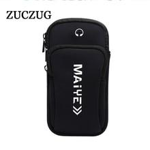 ZUCZUG Luminous Sports Running phone Bag Case Cover Universal Waterproof Sport mobile Holder Outdoor Phone Arm pou