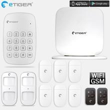 Etiger V2 Alarm System With Wireless Keypad 433mhz Intruder Burglar For Home Office Factory Security System