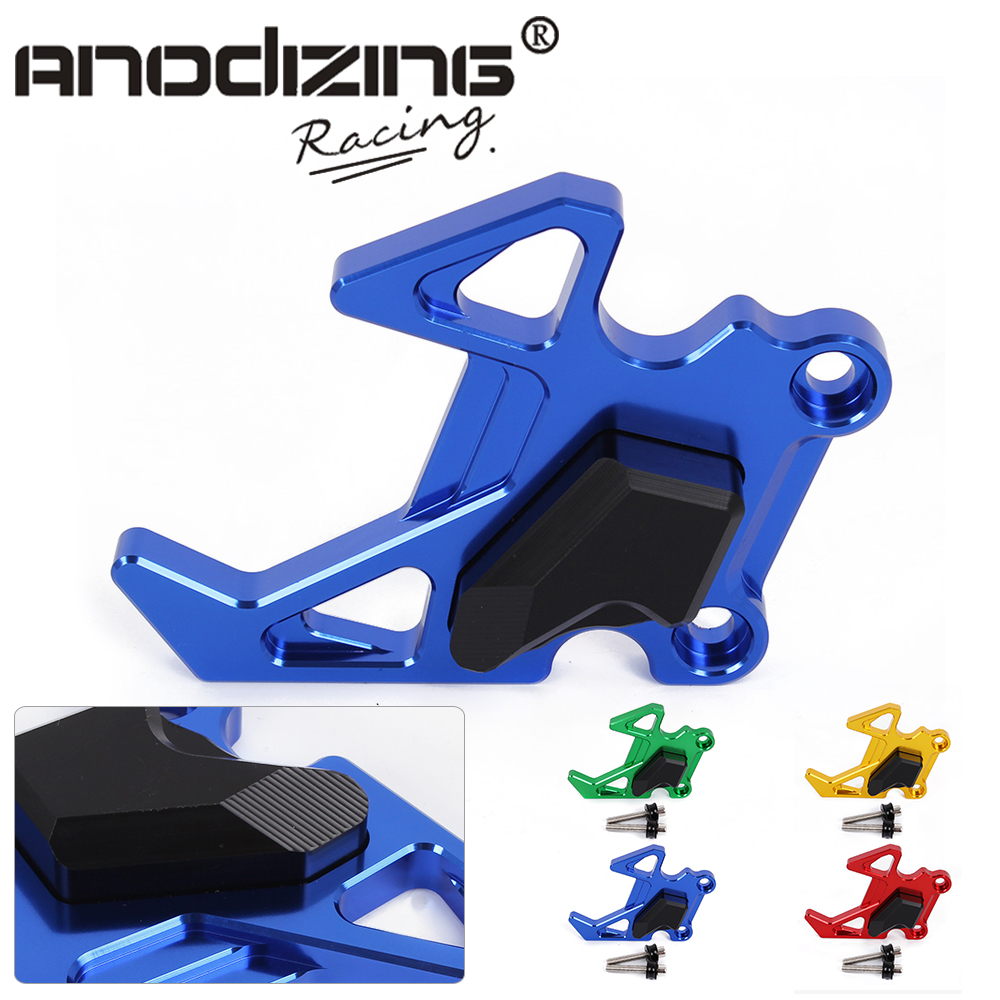 New Free Shipping CNC Motorcycle for Kawasaki Z125 2015-2017 Calipers Frame Four Color Choose Slider Crash Pad Accessories