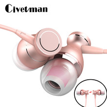 Fashion Logam In-Ear Earphone Mikrofon Universal Earbud Super Bass Auriculares Stereo Headset untuk Mobile Ponsel MP3 PC(China)