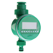 Garden Sprinkler Control Timer Digital LCD Programmable Clock Irrigation Automatic Watering Controller