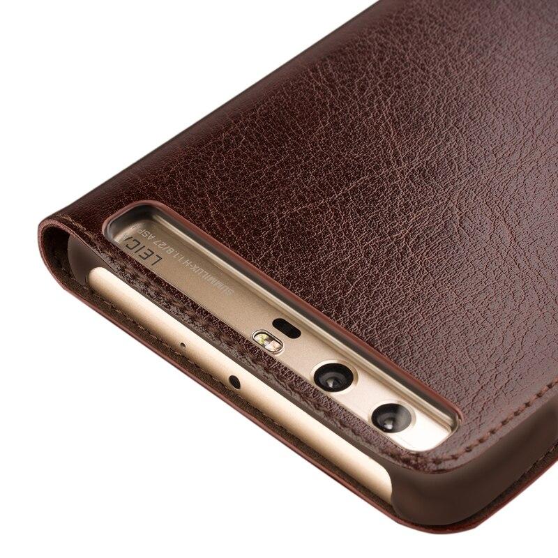 QIALINO BARU Kasus untuk Huawei Ascend P10 ditambah Mewah Kulit Asli - Aksesori dan suku cadang ponsel - Foto 3
