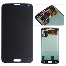 Wholesale Mobile phone spare parts 100% Original For Samsung galaxy S5 I9600 lcd G900F/G900H LCD screen display digitizer