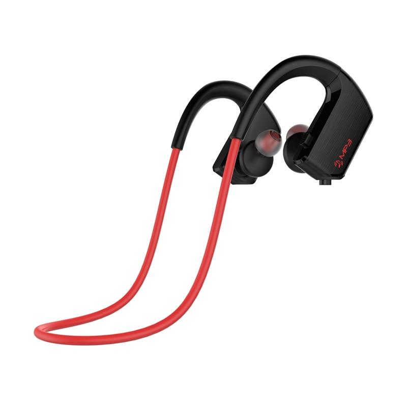 Sport Bluetooth Headphone Wireless  4.2 Sweat-proof Headset MP3 Player 8GB Earphone Rechargeable Li-ion battery For Running