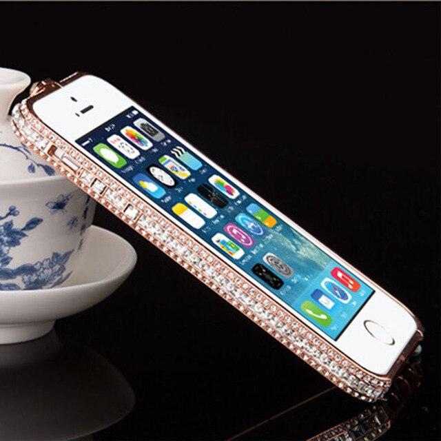 Luxury Glitter Diamond Rhinestone Bumper Case Frame for iPhone