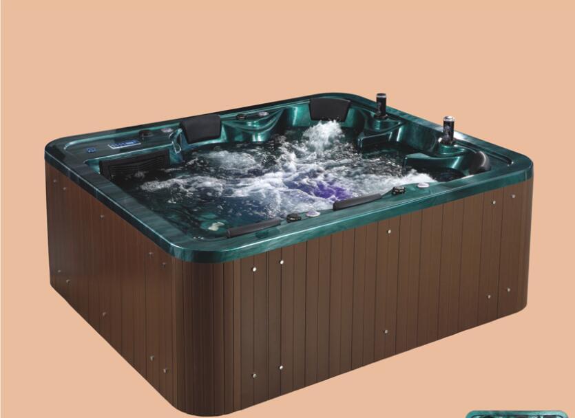 2390mm piscine bain à remous acrylique Hydromassage surf multi-personnes SPA extérieur NS2008