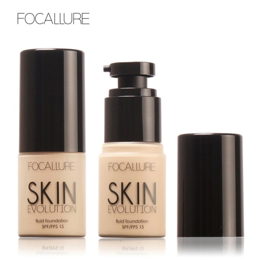 Sun Block Makeup Foundation Liquid Concealer Oil-control Base Face Moisturizer Maquiagem Brighte Skin Evolution Fluid Foundation