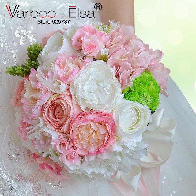 ramo de flores novia pink white beach wedding flowers bridal ...