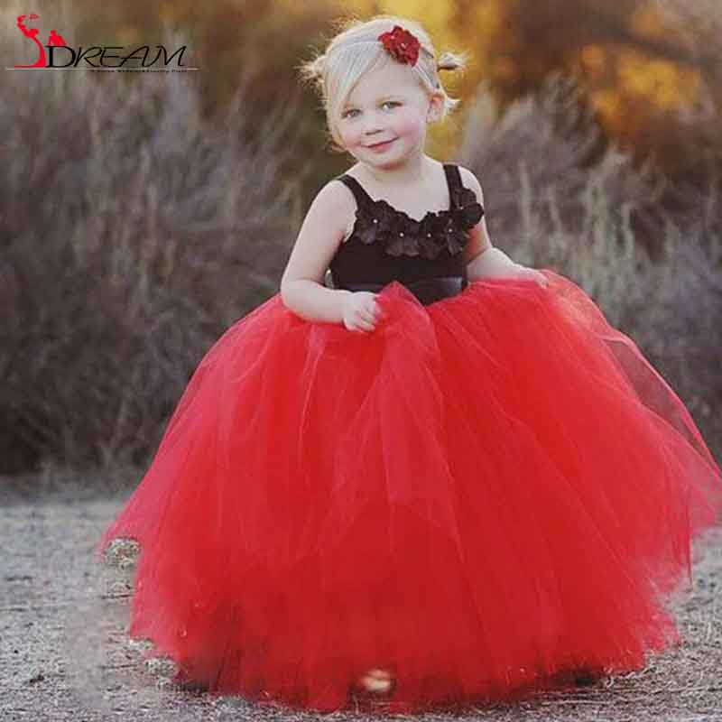 Compare Prices on Black Tulle Dresses for Little Girls- Online ...