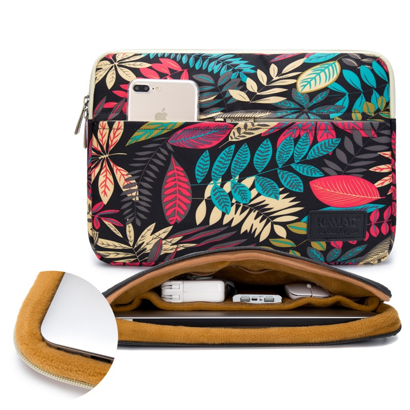 """Image 5 - 2019 New Brand Kinmac Sleeve Case For Laptop 13"""",15"""",15.6 inch Notebook Bag For MacBook Air Pro 13.3,15,4 Free Drop Shipping-in Laptop Bags & Cases from Computer & Office"""