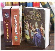 Сейф для хранения в трех стилях книга банка денег ювелирных