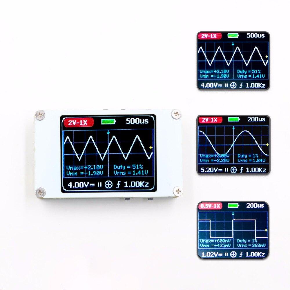 DSO188 Oscilloscope De Poche Mini Poche Portable Ultra-petit Numérique 1 m Bande Passante 5 m Taux D'échantillonnage Numérique Oscilloscope Kit