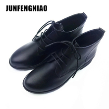 JUNFENGNIAO Women's Shoes Genuine Leather Rubber Flats Loafers Lace-Up Sapato Feminino Ugs Moccasin Oxford Casual Naked DCGB6251 отпариватель unit ugs 126