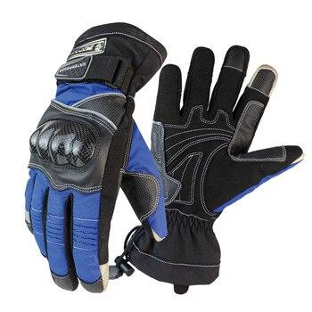 Schutz Motorrad Handschuhe Winter Warme Wasserdicht Winddicht Sport Racing Zubehör Guantes Moto Motorrad Racing Handschuh Bike