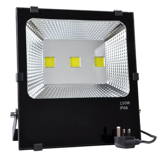 150w Led Floodlight 750w Halogen Bulbs Equivalent Ip66 Waterproof Outdoor Lights 6000k