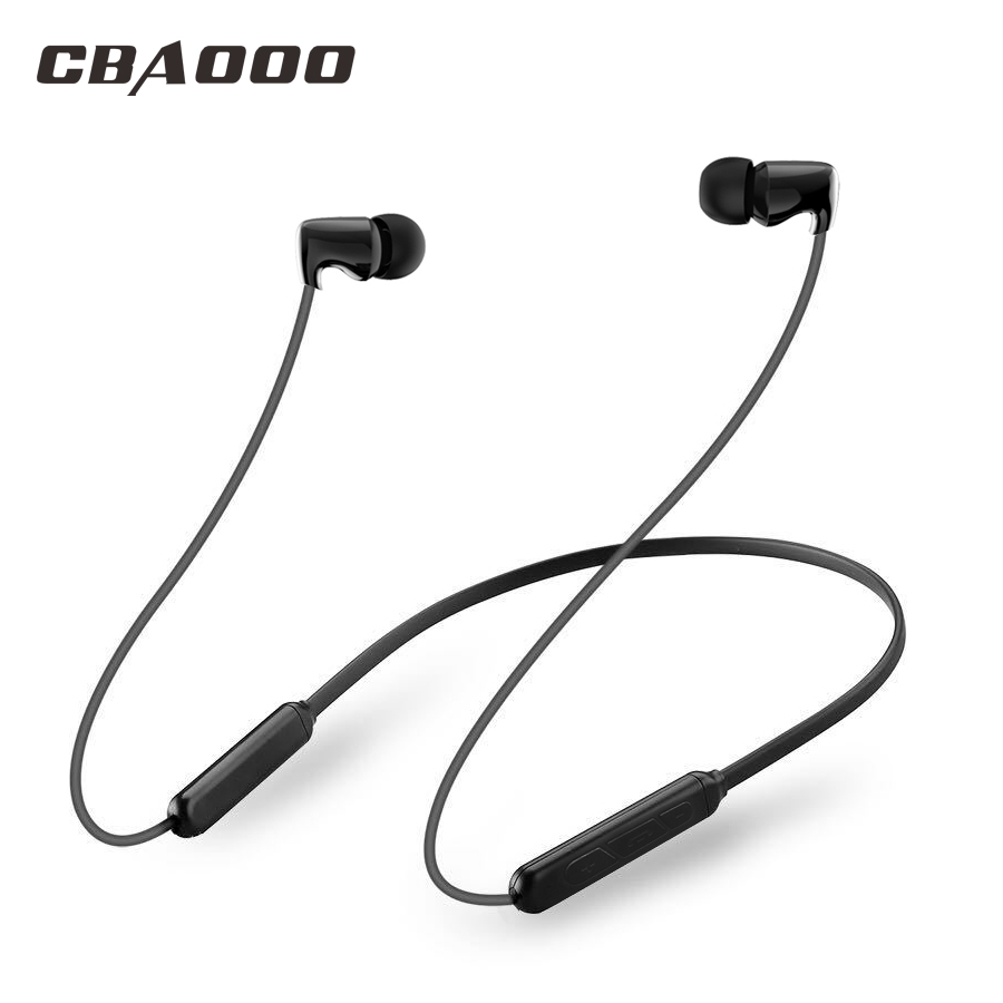 CBAOOO Wireless Bluetooth Headphone Sport Bluetooth Earphone Headset Stereo with Microphone for android iphone xiaomi 2018 original jkr 218b bluetooth headphones with microphone wireless headset bluetooth for iphone samsung xiaomi headphone