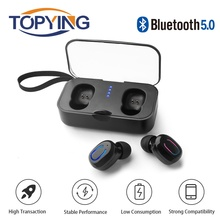 T18S Invisible Wireless Earbuds Bluetooth Earphone 5.0 TWS Mini Bluetooth Headset Wireless Stereo Earhones Android ios a7 tws bluetooth earphone wireless true wireless stereo earbud waterproof 2018 new bluetooth earbuds for ios for iphone android