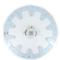 24W LED Ring PANEL Circle Light AC180 265V SMD 5730 5630 LED Round Ceiling Board The