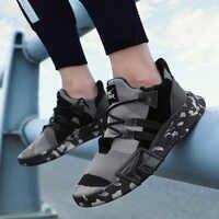 Mhysa/Новинка 2019 года; Стильная летняя Молодежная мужская обувь; легкая дышащая модная повседневная обувь для мужчин; удобные кроссовки на шну...