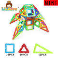 64 unids mini magnética bloques de construcción de modelos para niños juguetes de plástico magnético ladrillos enlighten magnética juguetes de diseñador para niños