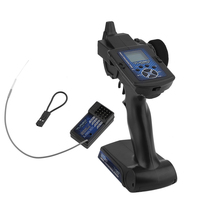 90700G 3 Channel 2.4GHz Remote Control Transmitter With Receiver For RC Car