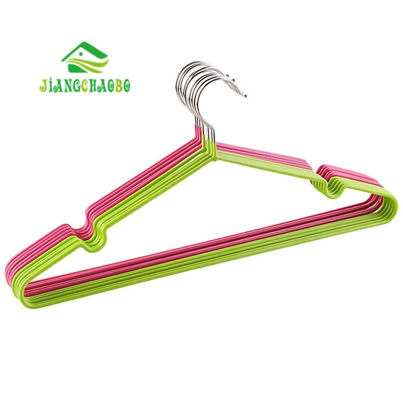 10Pcs/Set JiangChaoBo Non-Slip Hanger Clothes Rack Clothes Hanger Home Racks Clothes Rack Clothes Hanger