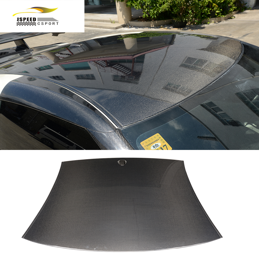 Revêtement d'habillage de toit de course de carbone de style de voiture pour Nissan GTR R35 2009-2015