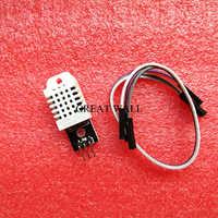 1 Uds. DHT22 Sensor Digital de temperatura y humedad módulo AM2302 + PCB con Cable B34