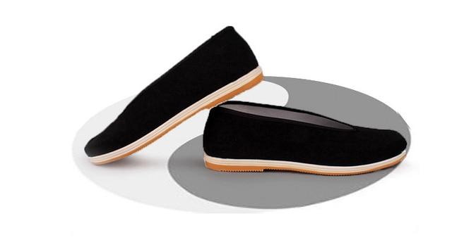 adac2e63c 1 Pair Handmade Multi-layer Sole Tai Chi Martial Arts Shoes CHINA Vintage  Kung Fu Wushu Shoes Martial Arts Shoes