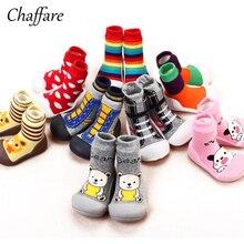 Baby Boy Girl Attipas patį dizainą pirmasis vaikščiojimo prekės ženklas Anti Slip Cartoon Shoes Boot Soft Rubber Soled Lauko batai LYJ003
