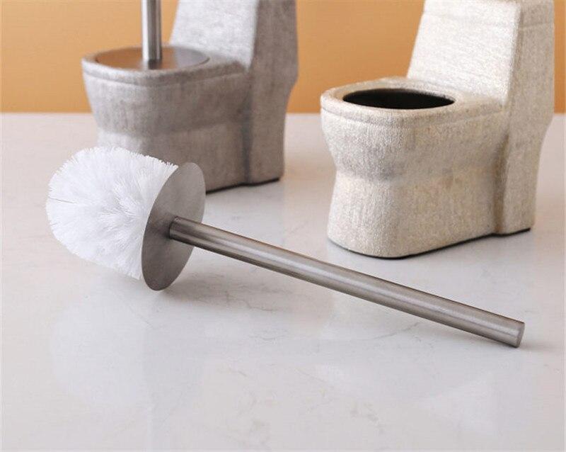 Suporte p escova p vaso sanitário