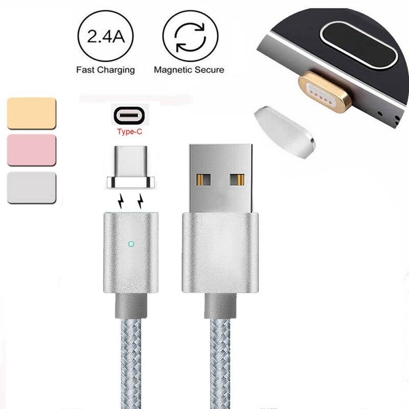 Unterhaltungselektronik Datenkabel Genial Magnetische Usb-c Typ C Ladegerät Kabel Für Lg G5/g6/v20 Pixel P9/p10 Oneplus 2/ 3/3 T