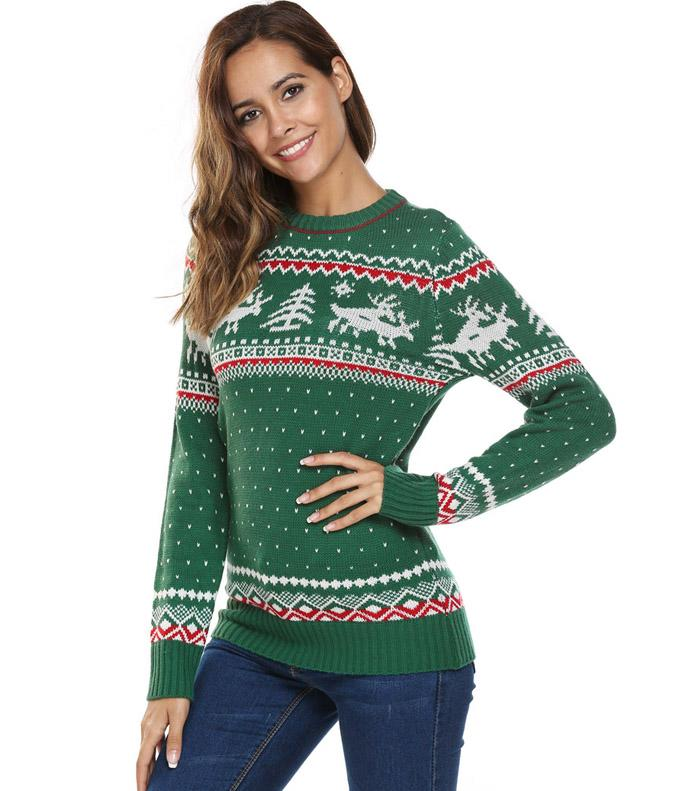 HTB1HLAgSFXXXXcEXpXXq6xXFXXXV - Women Christmas Jesus Print Sweaters Casual Long Sleeve Autumn O Neck Deer Print Slim Pullover Sweater Winter Tops PTC 289
