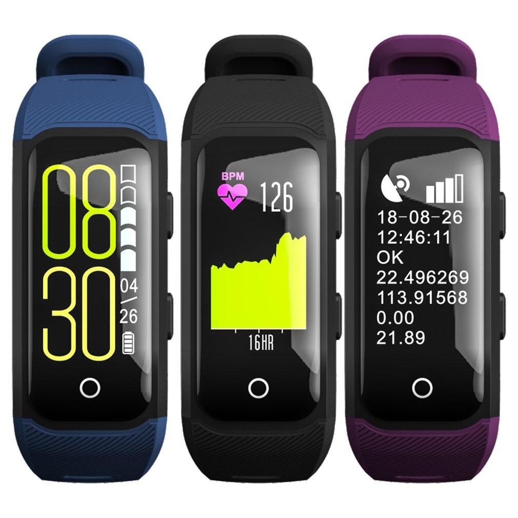 GPS sportowe do biegania na zewnątrz smart Watch wielofunkcyjny tryb treningu kalorii na odległość prędkość odliczanie czasu zegarek dla Dropshipping w Zegarki cyfrowe od Zegarki na  Grupa 3